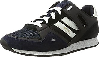 Boss Orange Orland_lowp_MX, Zapatillas para Hombre, Azul (Dark Blue 401), 39 EU