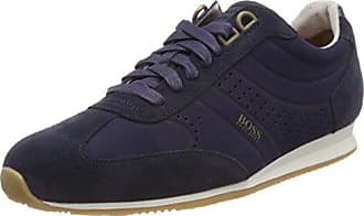 Boss Orange Orland_lowp_MX, Zapatillas para Hombre, Azul (Dark Blue 401), 46 EU