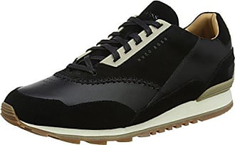 Boss Orange Saturn_lowp_tbpf, Zapatillas para Hombre, Negro (Black 001), 40 EU