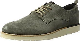 Timberland Retro Runner, Zapatos de Cordones Oxford para Hombre, Verde (Grape Leaf A58), 40 EU