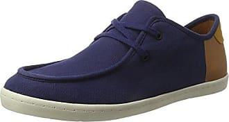 Boxfresh Horton CH Cnvs/Sde, Sneaker Uomo, Verde (Khaki KHA/Tan), 43 EU