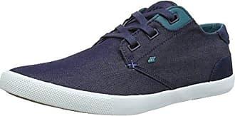 BoxfreshStern BSC FLK Mesh/SDE Nvy/gry - Zapatillas para Hombre, Color Azul (Navy), Talla 40