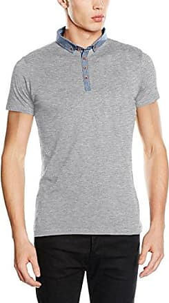 Brave Soul Chimera, Polo Homme, Gris (Light Grey Marl/Denim Light Grey Marl/Denim), M