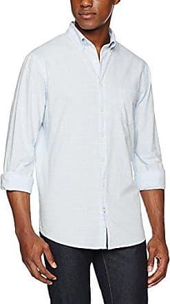 Dries, Camisa para Hombre, Azul (Bleu 25), 42(Talla del Fabricante: Medium) Brax