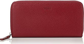 Nola 100, Combi. Purse S18, Womens Wallet, Rot (Massai Red), 3x9x19.5 cm (B x H T) Bree