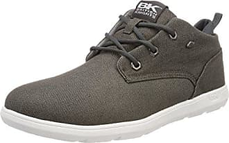 British Knights Herren RE-Style Mid Hohe Sneaker, Grau (Dk Grey/Grey), 41 EU