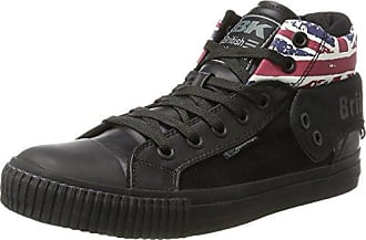 British Knights Herren ROCO Hohe Sneaker, Schwarz (Black), 41 EU