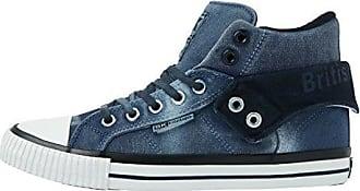 British Knights Herren Sneaker Dk Grey/Dk Grey 41 EU, Blau - Navy/Navy - Größe: 41 EU