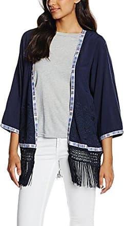 Jacket Rubia, Blouson Femme, Bleu-Blau (Midnight Navy 1608-541), 38 (Herstellergröße: M)Broadway Fashion