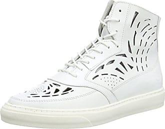 Voyage, Sneakers Basses Femme, Blanc (White/White/Gunmeatal), 39 EUPalladium