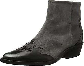 Django, Chelsea Boots Femme, Noir (Black 01), 37 EUBronx
