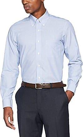 100080756, Camisa para Hombre, Blanco (White 100), 35 Brooks Brothers