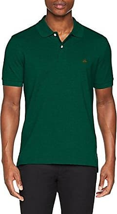 Brooks Brothers 100080008, Polo Homme, Vert (Dark Green 305), X-Small