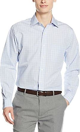 Brooks Brothers 100040545_Azzurro, Chemises Décontractées Homme, (Azzurro), 46 (Taille Fabricant:17H)