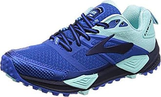 Cascadia 12, Chaussures de Running Femme, Multicolore (Bluefish/Clematisblue/Purpleca), 38 EUBrooks