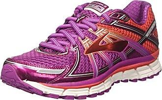 Brooks Adrenaline GTS 16, Chaussures de Running Compétition Femme, Bleu (Bluetint/Pinkglo/Peacoat 418), 38.5