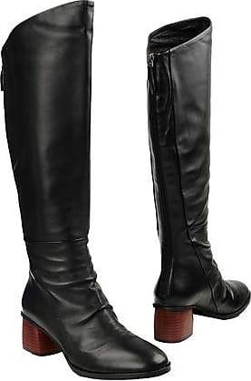I4704P, Bottes Hautes Femme - Noir - Noir, 35 EUBruno Premi