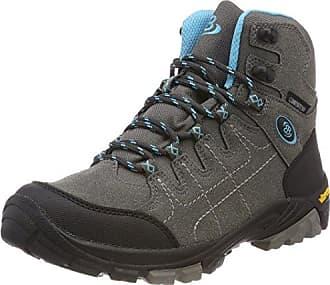 Bruetting Valley High, Damen Trekking- & Wanderstiefel, Grau (Grau/Tuerkis), 36 EU (3 Damen UK)