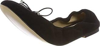 184524, Ballerines Femme, Noir (Black 01), 8 UKBuffalo