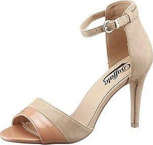 Sommer Sandalen Damen Niet High Heels Wies Fein mit Sexy Straps Modell Catwalk Schuhe, A-9 Schwarz, 37