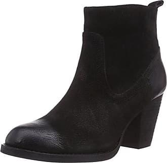 Buffalo Bottes Courtes avec Doublure Chaude Femme - Noir - Noir (Black 01), 37 EU