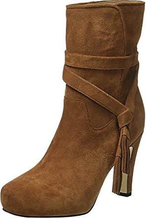 ES 30836 Singapura, Zapatillas de Estar por Casa para Mujer, Marrón (Castanho 01), 38 EU Buffalo