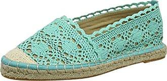 327675 Cotton - Alpargata Mujer, Color Azul, Talla 39 Buffalo
