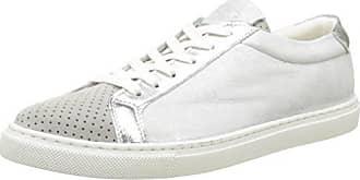 516-2139 Mirror PU, Zapatillas para Mujer, Plateado (Silver), 38 EU Buffalo