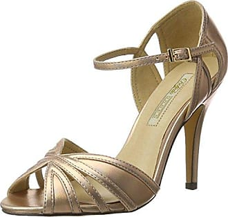 Womens 315276 Lh-129 Met Pu Wedge Heels Sandals Buffalo QXG2tRyiOw