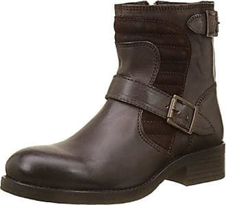 Buffalo EU Mexico Bottes London Femme ES 37 01 Marron 30492 Castanho r7rqAw