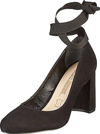 Femmes Buffle Zs 7426-16 Pompes Top Nappa - Noir (noir 01), Taille: 39
