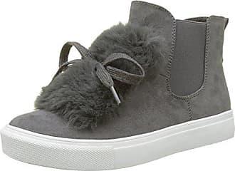 Buffalo Shoes 328145r Imi Suede, Scarpe da Ginnastica Alte Donna, Grigio (Grey 01), 38 EU
