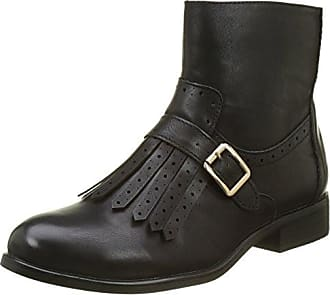 Buffalo David Bitton Buffalo Shoes 334619 Leather PU, Bottes Femme, (Black 01), 38 EU