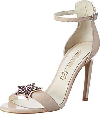 Higher-Heels , Hi-Top Slippers femme - Blanc - Elfenbein, 41.5 EU