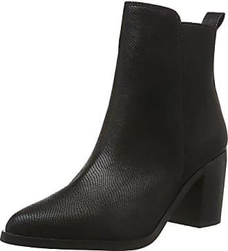 178200, Bottes Classiques Femme - Noir - Noir (Black 01), 39 EUBuffalo