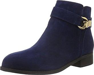 413-6923 L Kid Suede, Zapatillas de Estar por Casa para Mujer, Azul (NAVY185), 38 EU Buffalo