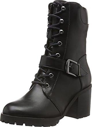 Buffalo B118a-54 P1735a PU, Bottes Classiques Femme, Noir (Black 01), 39 EU