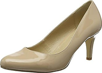 Buffalo Shoes C354A-1 P2010L Patent, Atado Al Tobillo para Mujer, Rojo (Red), 38 EU