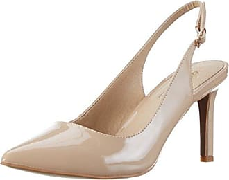 Womens 182367 Ankle Strap Heels, Beige (Beige 01), 8 UK Buffalo