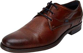 Bugatti 311251041100, Zapatos de Cordones Derby para Hombre, Marrón (Cognac), 45 EU