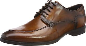 Bugatti 311252042100, Zapatos de Cordones Derby para Hombre, Marrón (Dark Brown), 43 EU