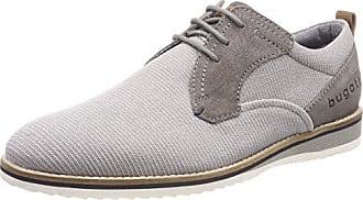Saddle Vibram, Chaussures à Lacets Homme, Gris (Grigio), 40 EUWALKOVER
