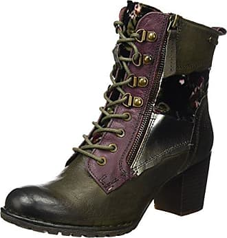 Bugatti Damen 421288505959 Stiefel, Grün (Dark Green/Brown), 39 EU
