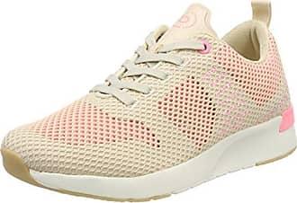 J7608pr6n, Sneakers Basses Femme, Blanc (Weiss/Gold 235), 36 EUBugatti