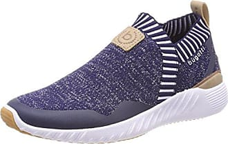 V66016, Sneakers Basses Femme - Blanc - Weiß (Weiß/Grau 232), 39Bugatti