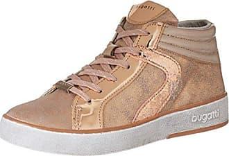 422291305050, Sneakers Hautes Femme, Marron (Taupe/Metallic), 39 EUBugatti