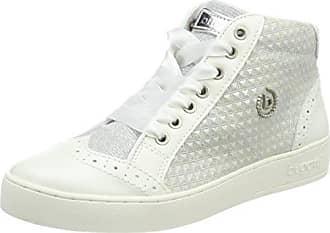 Bugatti Damen 421291315969 Hohe Sneaker, Mehrfarbig (Beige/Rose), 41 EU