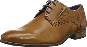 311251051000, Zapatos de Cordones Derby para Hombre, Negro (Schwarz), 43 EU Bugatti