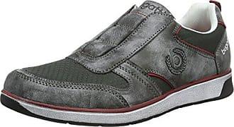 Mens F470263 Low-Top Sneakers, Grey Bugatti