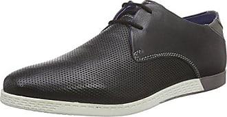 Mens 321342012510 Low-Top Sneakers, Dark Blue/Cognac Bugatti